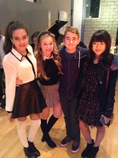 Brec Bassinger Verified account ‏@Brecbassinger Having fun with my lovely cast mates watching #BellaAndTheBulldogs @NickelodeonTV