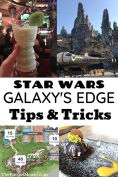 Click for my 10 essential tips for visiting Star Wars Galaxy's Edge Disney World! Learn everything you need to know to visit Star Wars Land in Hollywood Studios. Everything Star Wars Disney World for your trip to Batuu and Black Spire Outpost. Oga's Cantina, the Millenium Falcon, light sabers and more. #starwarsgalaxysedge #galaxy'sedge #starwarsland #hollywoodstudios #starwarsdisneyworld
