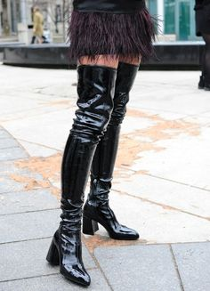 Kendall and Kylie Jenner Bust Out Their Baddest Thigh-high Boots ...