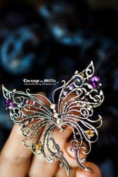"""Броши ручной работы. Ярмарка Мастеров - ручная работа. Купить """"My lovely Butterfly"""" Серебряная брошь. Handmade. Украшение, wrap"""