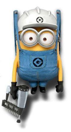 Despicable Me Minion Minion Rock, Cute Minions, Minions Despicable Me, Funny Minion, Bad Minion, Minions 2014, Happy Minions, Minion Humor, Amor Minions