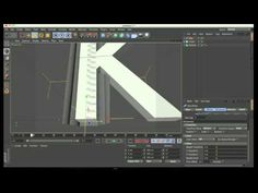 ▶ Cinema 4D- Spline text - Tutorial - YouTube