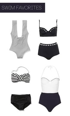 Spring Suits: Black & White