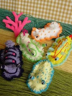 Kawaii Crochet, Cute Crochet, Crochet Crafts, Crochet Dolls, Yarn Crafts, Knit Crochet, Crotchet, Crochet Fish, Freeform Crochet