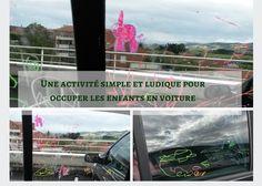 Une activité simple et ludique pour occuper les enfants en voiture