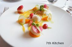 Eleven Madison Park | The scallop dish was so colorful and beautiful. It really was like an ...