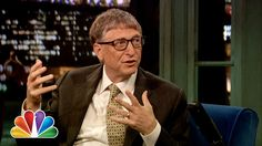 Bill Gates talks about poverty around the world on the Tonight Show with Jimmy Fallon