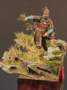 Historical Miniatures by Calin Ungureanu: Mongolian General Types Of Moss, Types Of Plants, Red Tint Hair, Skins Characters, Thrash Metal, Super Glue, New Tricks, Ikebana, Vignettes