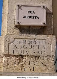 Travel With MWT The Wolf: World Famous Streets  Rua Augusta Lisbona Portugal...
