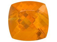 Colheita Fire Opal(Tm) Brasa Color Min 17.50ct 19mm Square Cushion