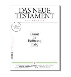 Lesbares, aufgeräumtes Design. Das Neue Testament als Magazin / Einheitsübersetzung / Bibel / Design / bible Super geeignet als Geschenk €9,20