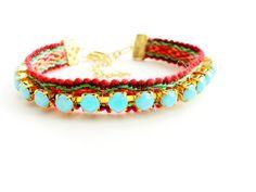 rhinestone friendship bracelet! #matching bracelets #rhinestone #cute jewelry  $32.00