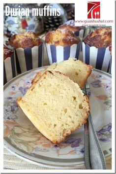 Durian Muffins (榴莲马芬)  #kenneth_goh    #guaishushu #Durian_muffins