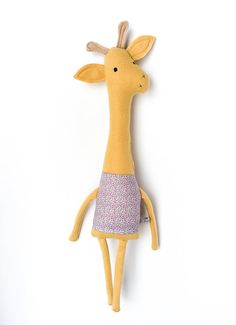 Plush Giraffe Friend- Finkelstein's Center Handmade Creature