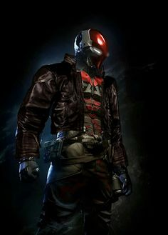 Jason Todd/Red Hood in Arkham Knight