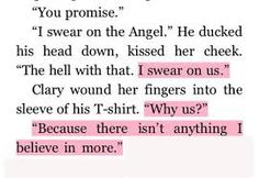 Image result for clary and jace quotes city of ashes