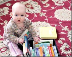Tips for reading books with babies - and some of our favorite board books. What board books do you love?
