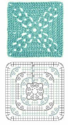 creazioni nausica all'uncinetto e non solo: Schemi coperte all'uncinetto