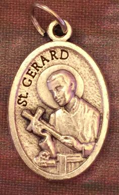 Vintage Saint Gerard Medal Patron Saint of Expectant Mothers | eBay