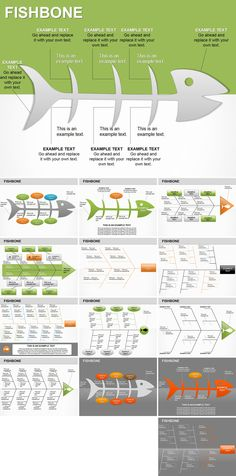 Fishbone PowerPoint diagrams