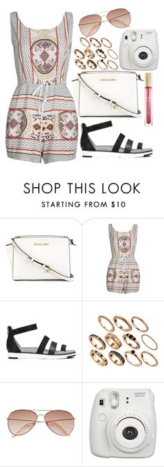"""""""Unitled#1417"""" by mihai-theodora ❤ liked on Polyvore featuring MICHAEL Michael Kors, ASOS, H&M and Max Factor"""