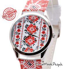 Folk Ornament Ladies Watch Ukrainian National от HandMadePeople