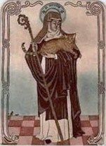 St Gertrude, heavenly protectress of cats