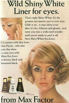 Max Factor Wild Shiny White Liner for Eyes.