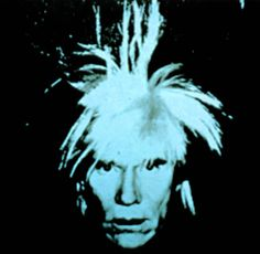 Andy Warhol, Self Portrait, 1986 (blue), from the collection of The Andy Warhol Museum
