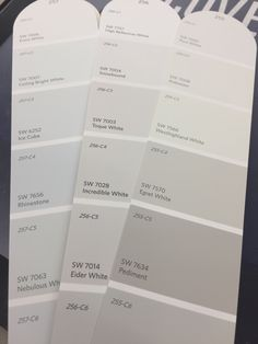 Sherwin Williams Eider White Taking a look at choosing exterior paint colors while working with the architectural elements of your home. Interior Paint Colors For Living Room, Office Paint Colors, Exterior Paint Colors For House, Bedroom Paint Colors, Paint Colors For Home, Paint Colours, Exterior Colors, Off White Paint Colors, Neutral Paint
