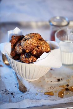 Muffin, Breakfast, Food, Oatmeal, Biscuits, Honey Cookies, Recipes For Children, Bakken, Food Food