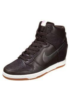 DUNK SKY HI - Sneakers high - brun