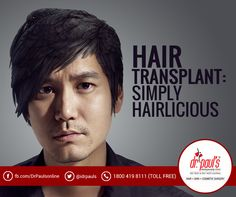 With baldness playing a spoilsport, #hairtransplantation is out and out advantageous. This is the only effective way to hide your bald naturally.