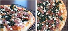 Selland's February Pizza: Pancetta, Kale and Fresh Ricotta