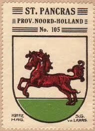 De oorsprong van het wapen is onbekend. Sint Pancras