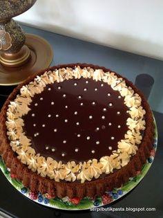 Butik Pasta Kurabiye Makaron: Çikolatalı Tart Kek