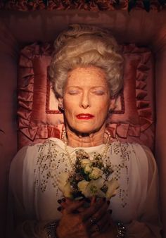 Tilda Swinton in Wes Anderson's 'The Grand Budapest Hotel'