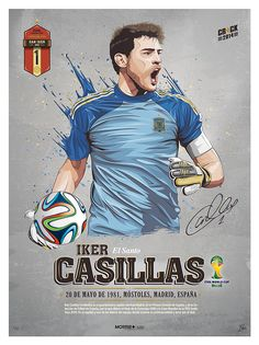 STARS WORLD CUP 2014 by Fer, via Behance