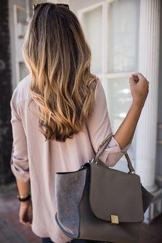 Faux Wrap Blouse | The Teacher Diva: a Dallas Fashion Blog featuring Beauty