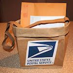 Simple Mail Bag craft for Community Helpers Theme - Each camper makes in the beginning of camp to store their crafts - take home at the end of week