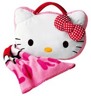 Avon: Hello Kitty® Throw with Pillow Decoracion Hello Kitty, Hello Kitty Bedroom, Construction For Kids, Den Of Geek, Hello Kitty Items, Hello Kitty Collection, Bedroom Accessories, Little Girls, Baby Kids