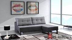 Rozkladacia pohovka s taburetom Singer - Rozkladacie pohovky a gauče   MT-nábytok.sk  #sofa #divan #settee #couch