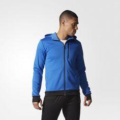 adidas Infinite Series Daybreaker Kapuzenjacke - blau