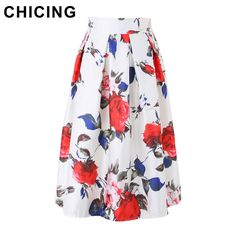 Vintage Peony Flower Print High Waist Pleated Midi Skirt Only $19.99 => Save up to 60% and Free Shipping => Order Now! #Skirt outfits #Skirt steak #Skirt pattern #Skirt diy #skater Skirt #midi Skirt #tulle Skirt #maxi Skirt #pencil Skirt