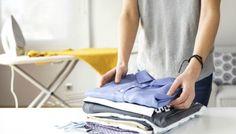 Ανακαλύψαμε το Κόλπο για να Έχετε Σιδερωμένα Ρούχα Χωρίς να Σιδερώσετε!