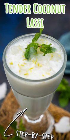 Punjabi Lassi Recipe, Indian Food Recipes, Asian Recipes, Lassi Recipes, Indian Drinks, Mango Lassi, Homemade Yogurt, Evening Snacks