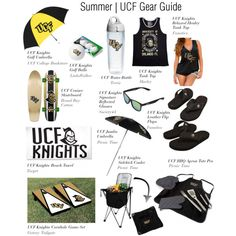 Summer | UCF Gear Guide by ucfgear on Polyvore