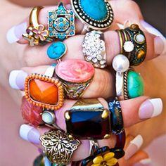 LOVE all the bold, bright colors!
