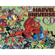 Official Handbook of the Marvel Universe (Vol. 1)  #EntertainmentCollectibles