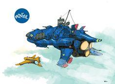 https://flic.kr/p/kLPKKt | monger. | blow off some stress paint an airship
